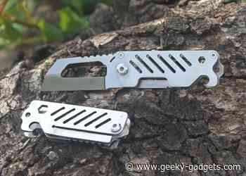 Nano Seax EDC pocket knife - Geeky Gadgets