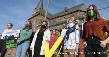 Kirche in Manheim: Aktivisten protestieren gegen Abriss - Aachener Zeitung