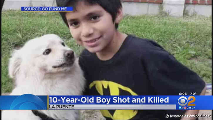 $20K Reward Offered To Catch Shooter Who Killed Boy, 10, In La Puente
