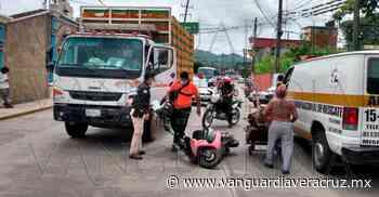Camión de Bachoco embiste a mujer en Misantla - Vanguardia de Veracruz