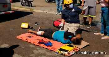 Motociclista se impacta contra camión en San José del Valle - Noticias en Puerto Vallarta - Tribuna de la Bahía
