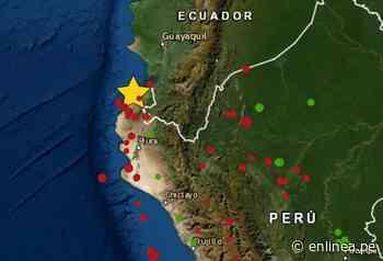 Sismo en Tumbes de magnitud 4.5 se registró hoy 15 de septiembre - Periodismo en Línea