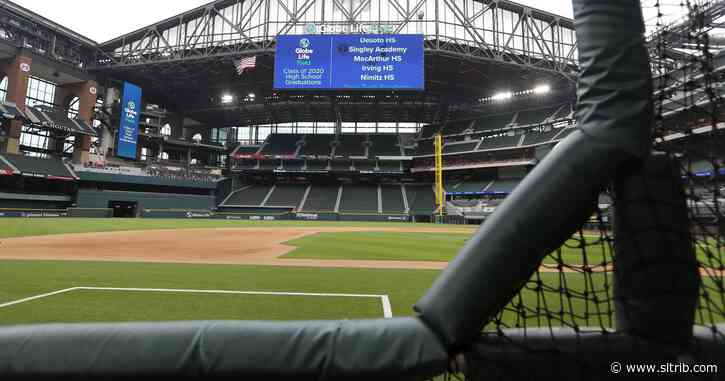 World Series to be played at Rangers new ballpark in Arlington, the first time at one site since 1944