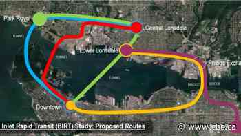 Study looks at 5 possible rapid transit routes to ease North Shore traffic woes