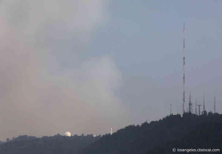 Crews 'Ready' For Bobcat Fire As Flames Reach Mount Wilson Observatory