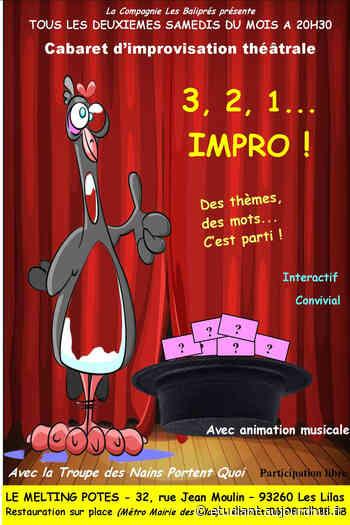 Cabaret impro 93 - Le Melting Potes, LES LILAS, 93260 - Sortir à France - aujourdhui.fr