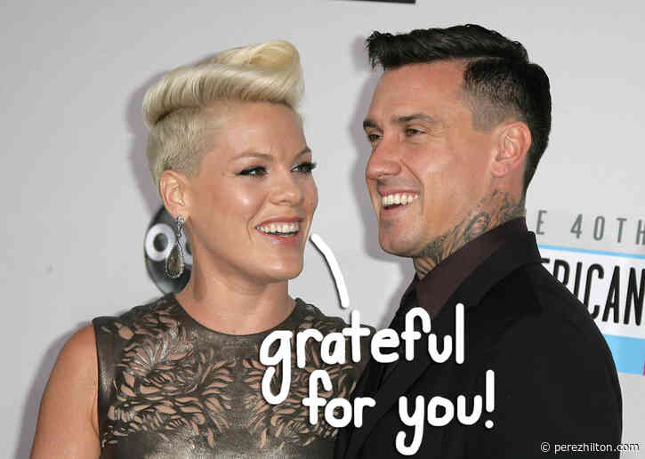 Pink Gets Candid About 'Wonderful' But 'Terrifying' Marriage To Carey Hart