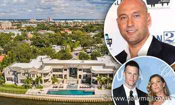 Derek Jeter 'lists his Tampa mansion for $29 MILLION' after renting it to Tom Brady and Gisele