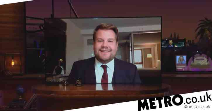 James Corden forced to film Late Late Show from home after Covid outbreak