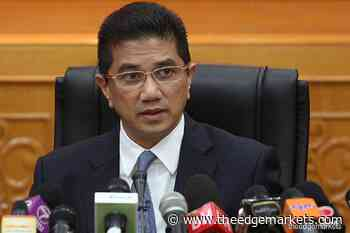 Malaysia's trade value decreased 10.3% to RM700.7b during MCO, says Azmin - The Edge Markets MY