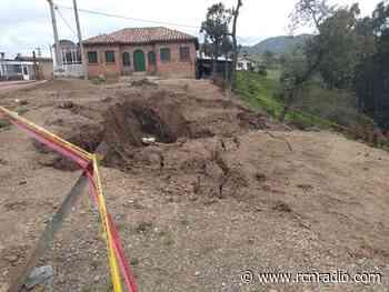 Falla geológica amenaza a habitantes de Ventaquemada en Boyacá - RCN Radio
