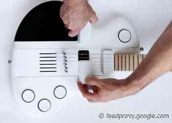 Slite modular, collapsible  electric guitar