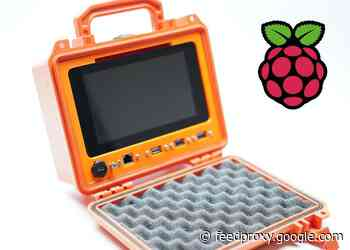 Rugged portable Raspberry Pi mini PC system