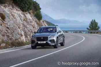 New Jaguar F-Pace SUV unveiled