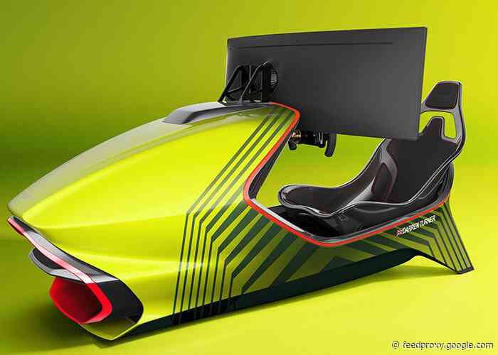 $74,000 AMR-C01 racing simulator built by Aston Martin