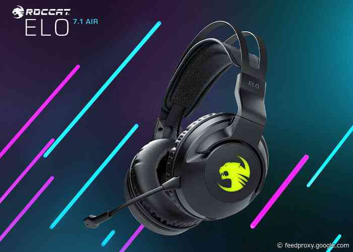 New ROCCAT Elo Series gaming headset range introduced