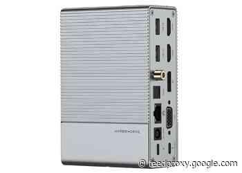 HyperDrive 18 port  GEN2 USB-C hub launches for $199