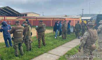 Nueve detenidos por jugar fútbol durante cuarentena en Coronel - La Prensa Austral