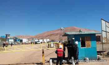 Entrampado, plantón de minera El Coronel - NTR Zacatecas .com