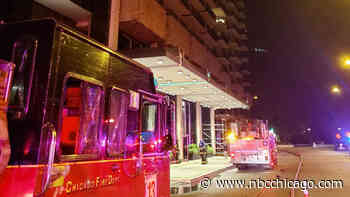 High-Rise Fire in Chicago Leaves Multiple People Hospitalized, Pet Dead