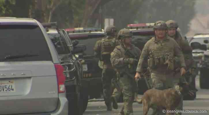 Massive Police Response In Lynwood Search For Carjacking Suspect