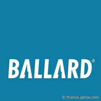 Ballard Repeats Being Named as a 'TSX30' Company for Second Consecutive Year