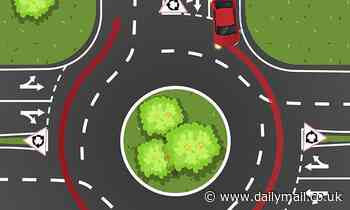 Road rules quiz asks Perth drivers if a car can make a full turn on a roundabout from the left lane