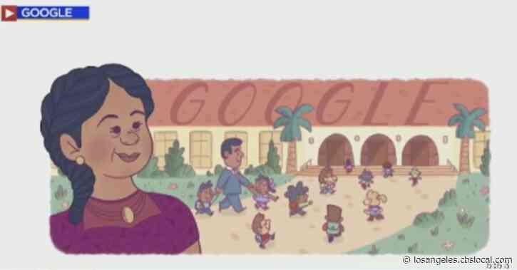 Google Celebrates Start Of Hispanic Heritage Month With Doodle Of OC Civil Rights Icon Felicitas Mendez