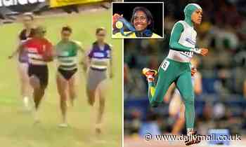 Footage resurfaces of Cathy Freeman overcoming a 54metre handicap to win a 400metre sprint