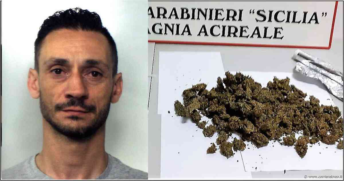 Aci Catena, pusher con consegna a domicilio e linea telefonica dedicata: 42enne arrestato in flagranza - Corriere Etneo