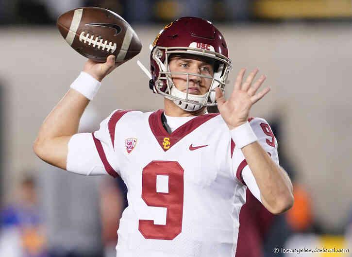 'Let Us Play': USC Quarterback Kedon Slovis Calls On Gov. Gavin Newsom To Allow Football To Resume