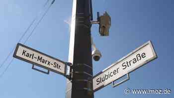 Kriminalität: Videoüberwachung an der Slubicer Straße in Frankfurt (Oder) zeigt Wirkung - Märkische Onlinezeitung