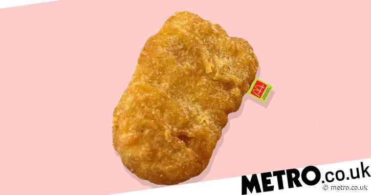 McDonald's is selling a 3ft chicken nugget pillow