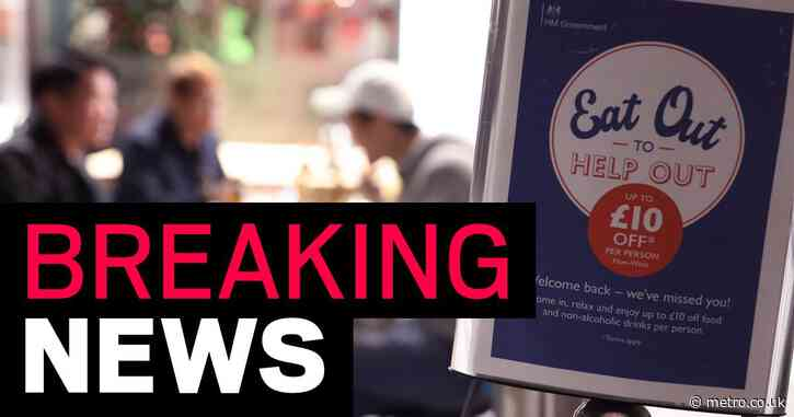 Eat Out to Help Out scheme causes inflation rate to drop to 0.2%