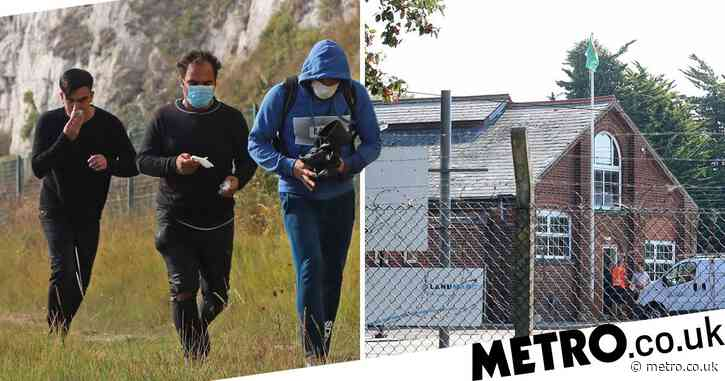 Disused army barracks to become UK's first migrant holding camp