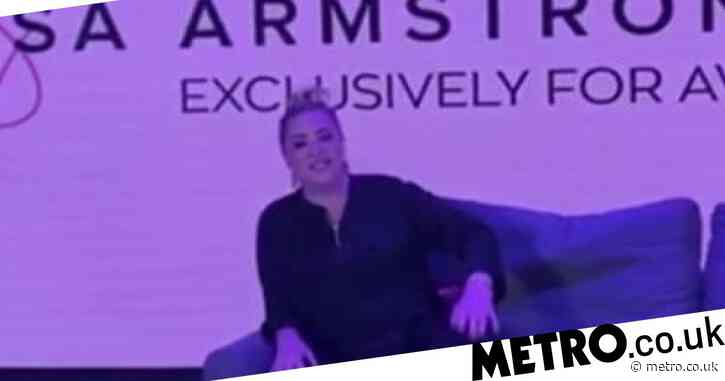 Lisa Armstrong apologises to Piers Morgan in the best way for his book being put in the street