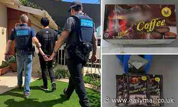 Perth teenager arrested after allegedly importing meth from Malaysia in a coffee package