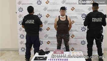 Detienen a sujeto por venta ilegal de armas en Santo Tomas Chautla - Diario Cambio