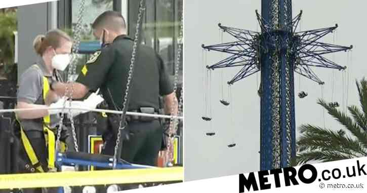 Worker falls 200ft to his death from world's tallest swing ride