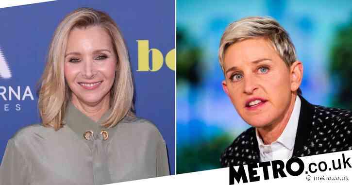 Lisa Kudrow weighs in on rumours Ellen DeGeneres is hosting Freinds reunion
