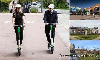 E-scooter trial in Coventry is paused after riders mount pavements and zip through shopping areas