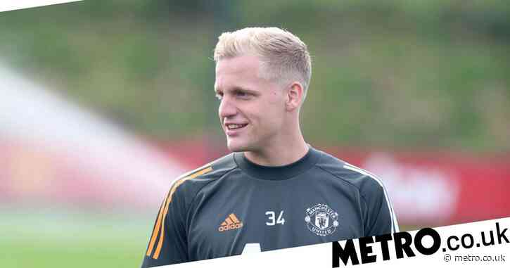 Donny van de Beek relishing 'big opportunity' at Manchester United and 'cannot wait' to play in front of fans at 'amazing' Old Trafford