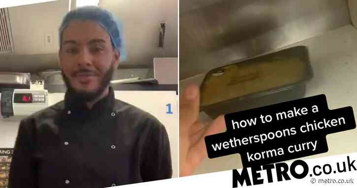 Chef suspended for revealing Wetherspoon kitchen secrets