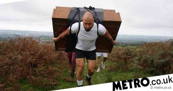 Former Royal Marine climbs mountain with 400lb piano on his back to raise money for lung transplant patients