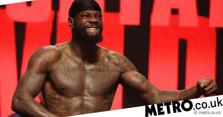 Deontay Wilder in 'amazing physical shape' for Tyson Fury  trilogy clash