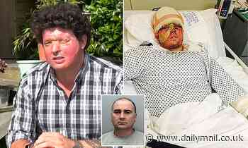 Father scarred by acid attack says he is 'sickened' as attacker is moved to open prison