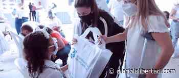 En Ponedera, Gobernadora Elsa Noguera da inicio a terceras entregas del programa de alimentación escolar - Diario La Libertad