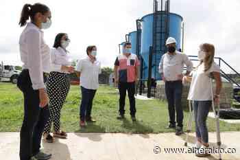 Ponedera y Sabanalarga tendrán servicio de agua potable 23 horas del día - EL HERALDO