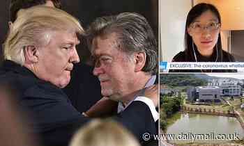 Study claiming covid was made in Chinese lab was published by groups founded by Steve Bannon
