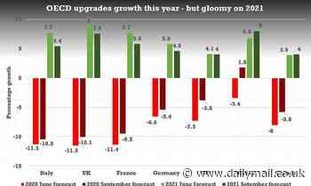 OECD more optimistic on UK this year but warns on second Covid wave
